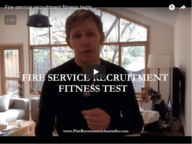 fire service recruitment fitness tests