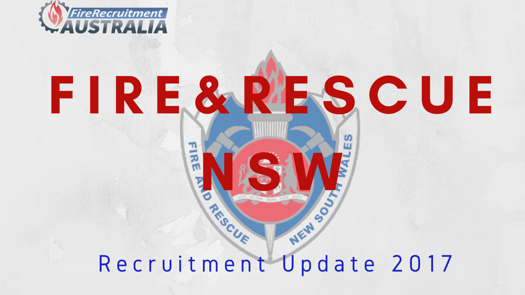 FRNSW Recruitment 2017