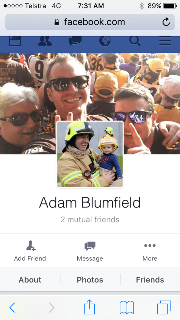adam blumfield MFB application success