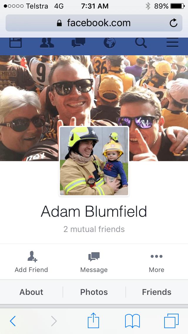 adam blumfield MFB application success
