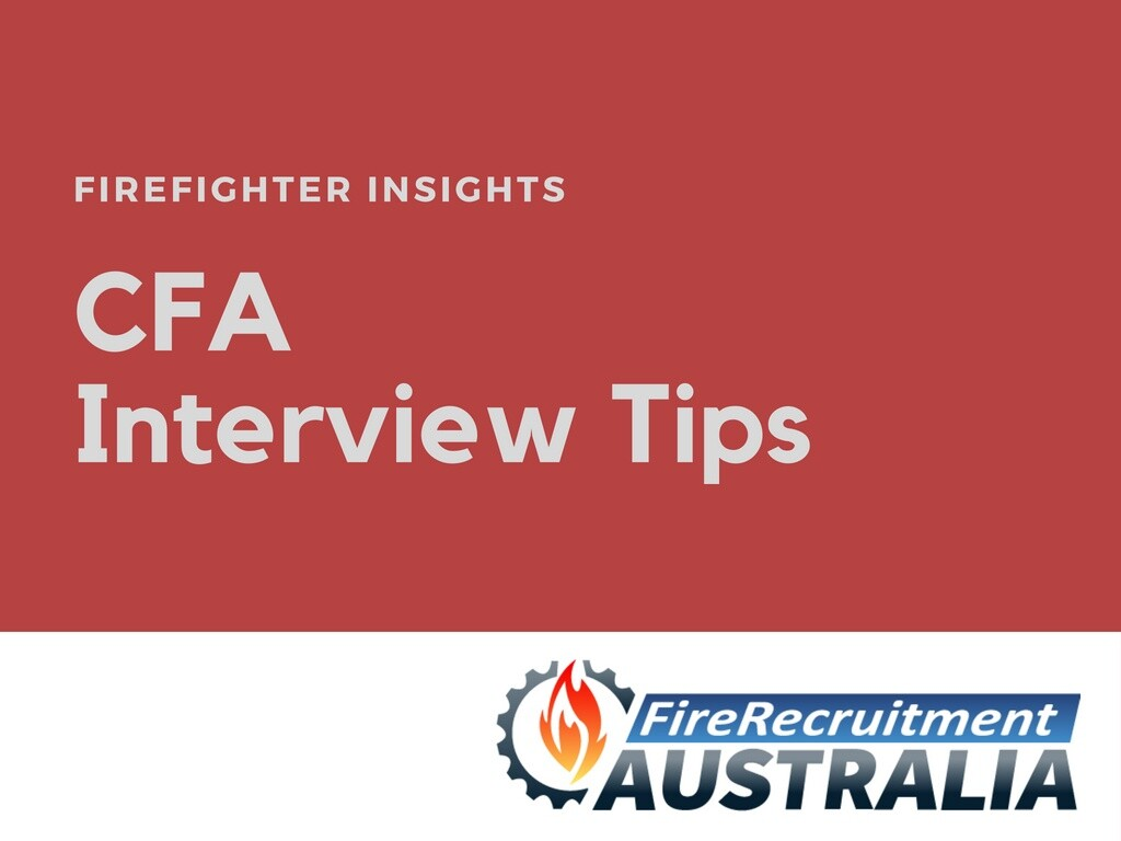 CFA Interview Tips