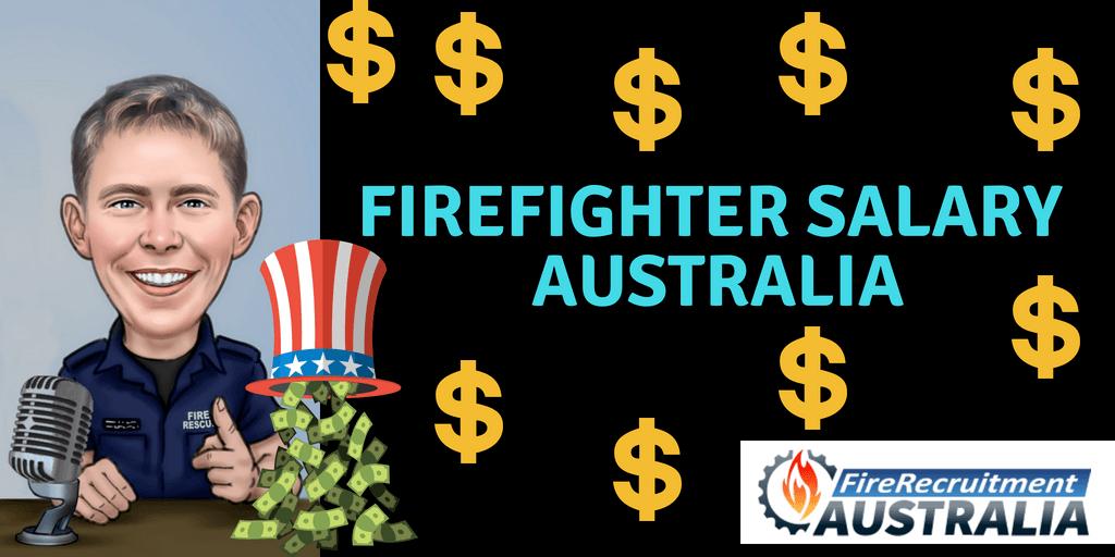 firefighter salary Australia