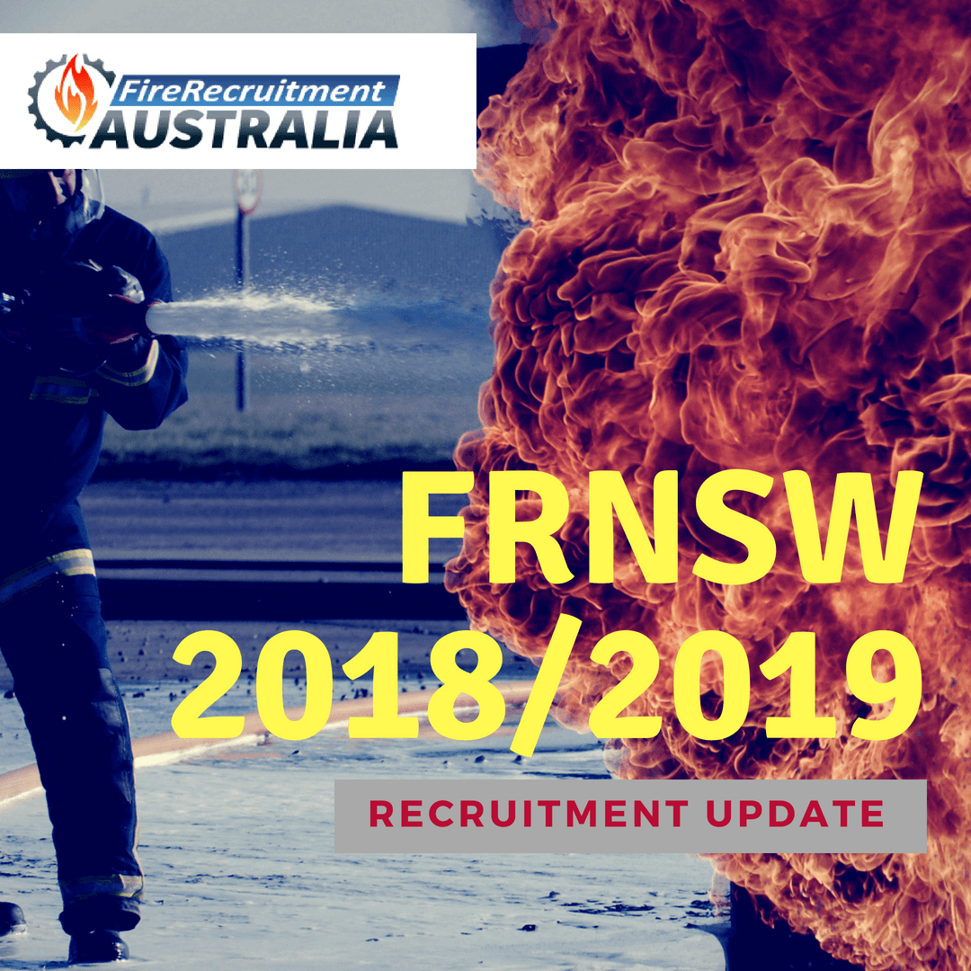 Fire and Rescue NSW Firefighter Recruitment 2018 / 2019