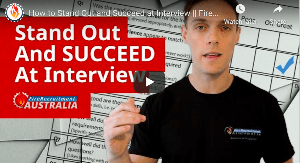 firefighter interview tips