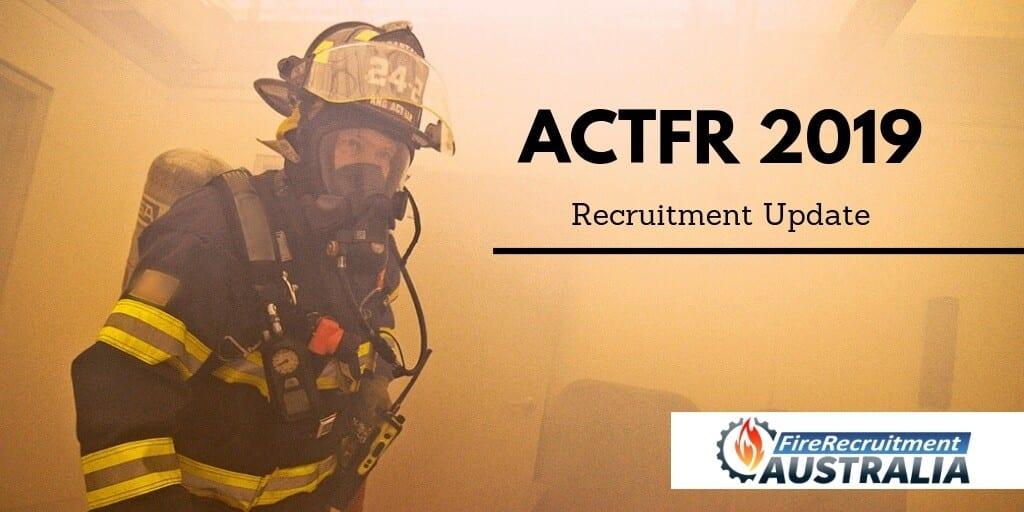 actfr recruitment update
