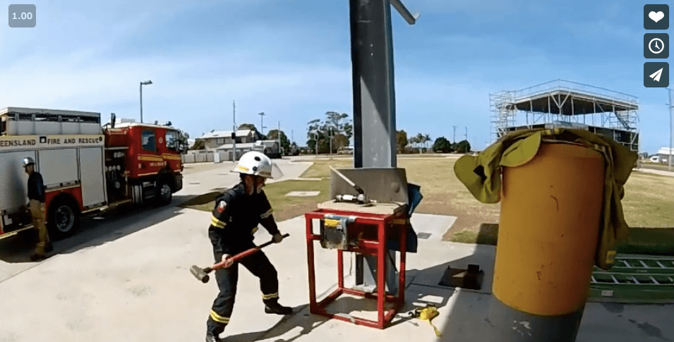Forcible Entry QPAT 1 Demonstration