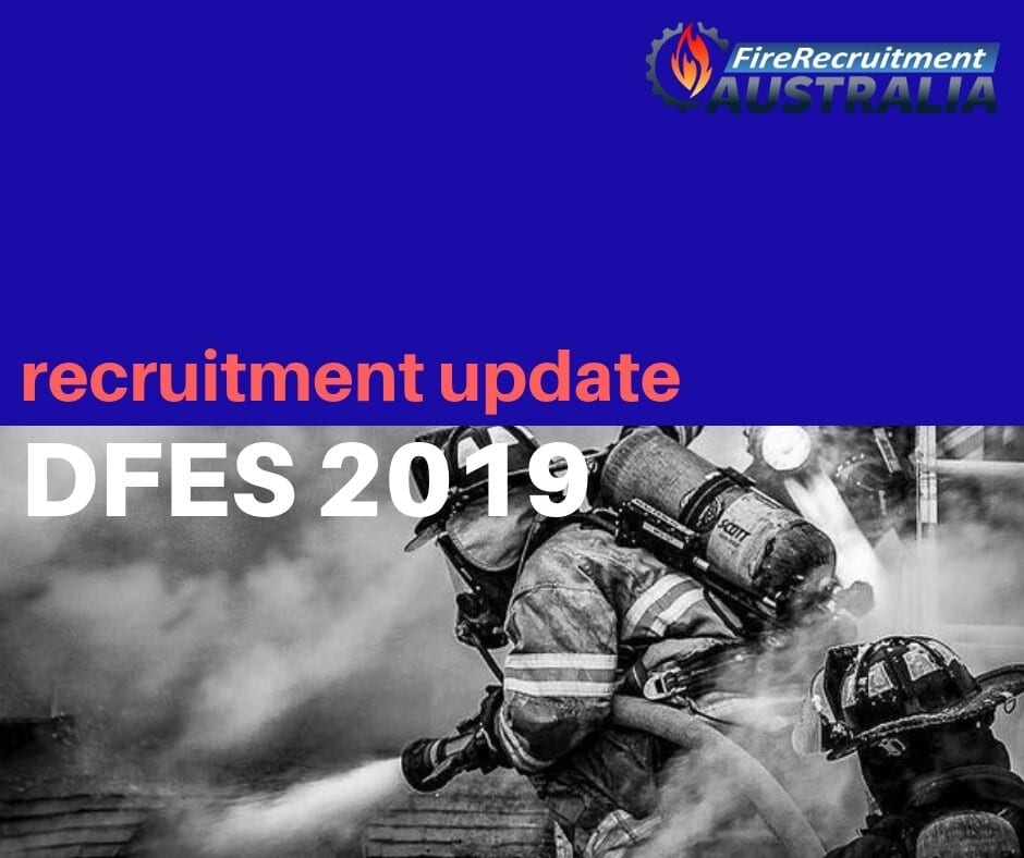 DFES Firefighter Recruitment 2019