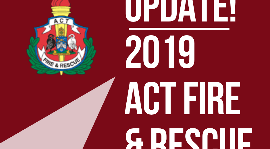 ACT Fire 2019