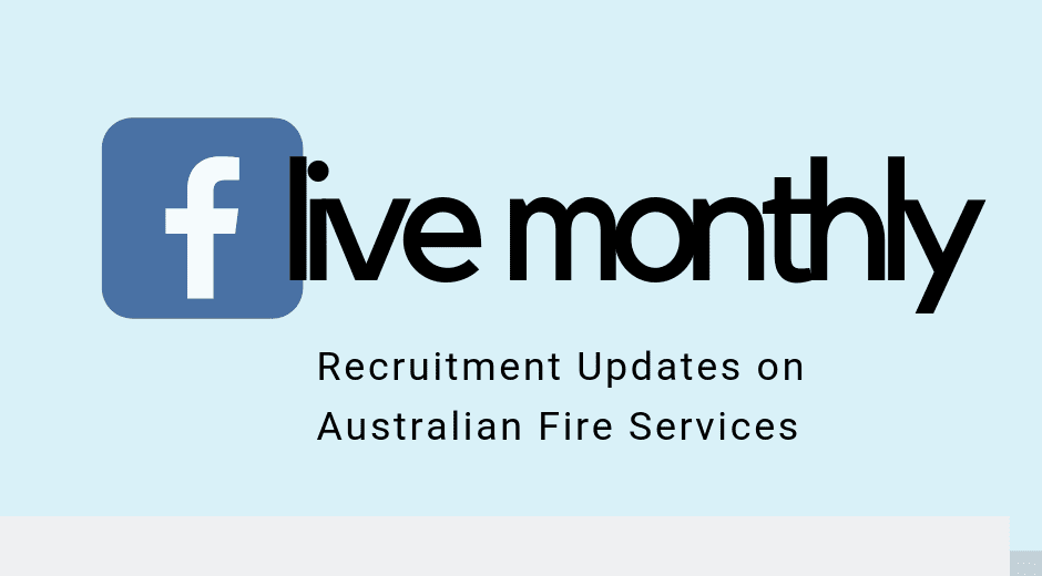 Fire Service Recruitment in Australia in 2019