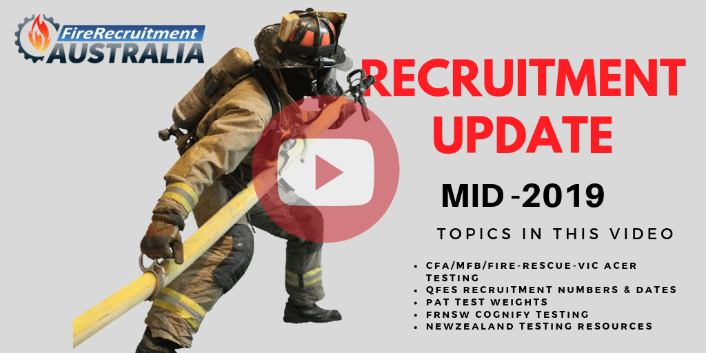 fire service recruitment update 2019 - Fire Recruitment Australia