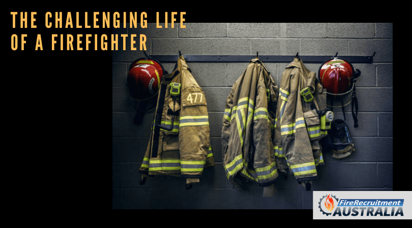 life of a firefighter