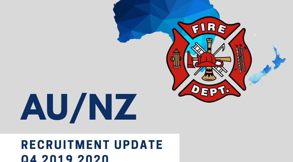 AU NZ FIREFIGHTER RECRUITMENT 2019 2020