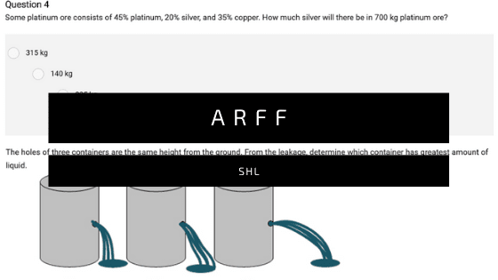 ARFF Aptitude Exam