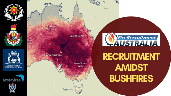 Recruitment amidst the bushfires