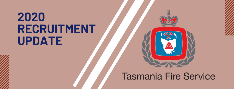 2020 tasmania fire service recruitment update tfs