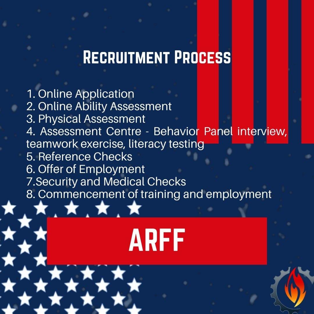 arff recruitment process