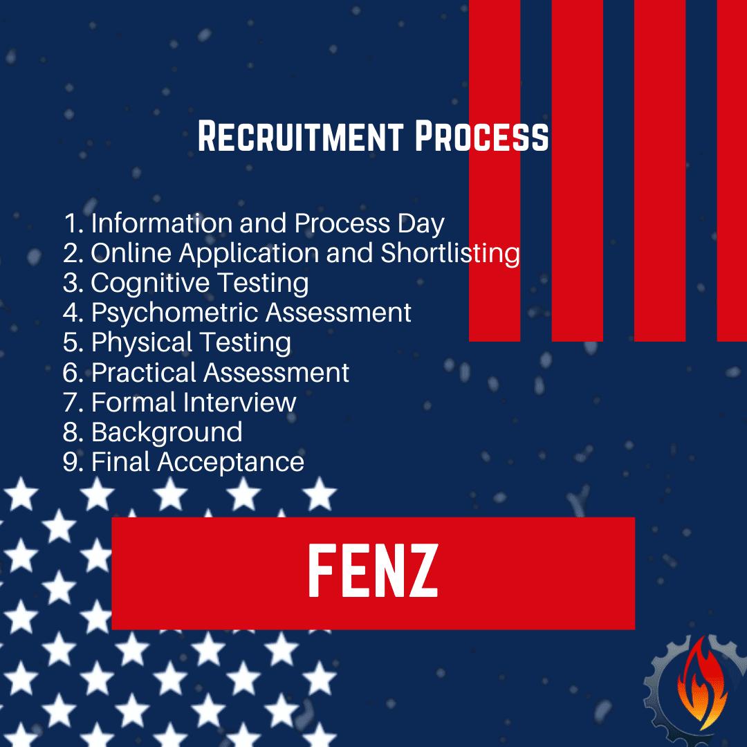 fenz recruitment process