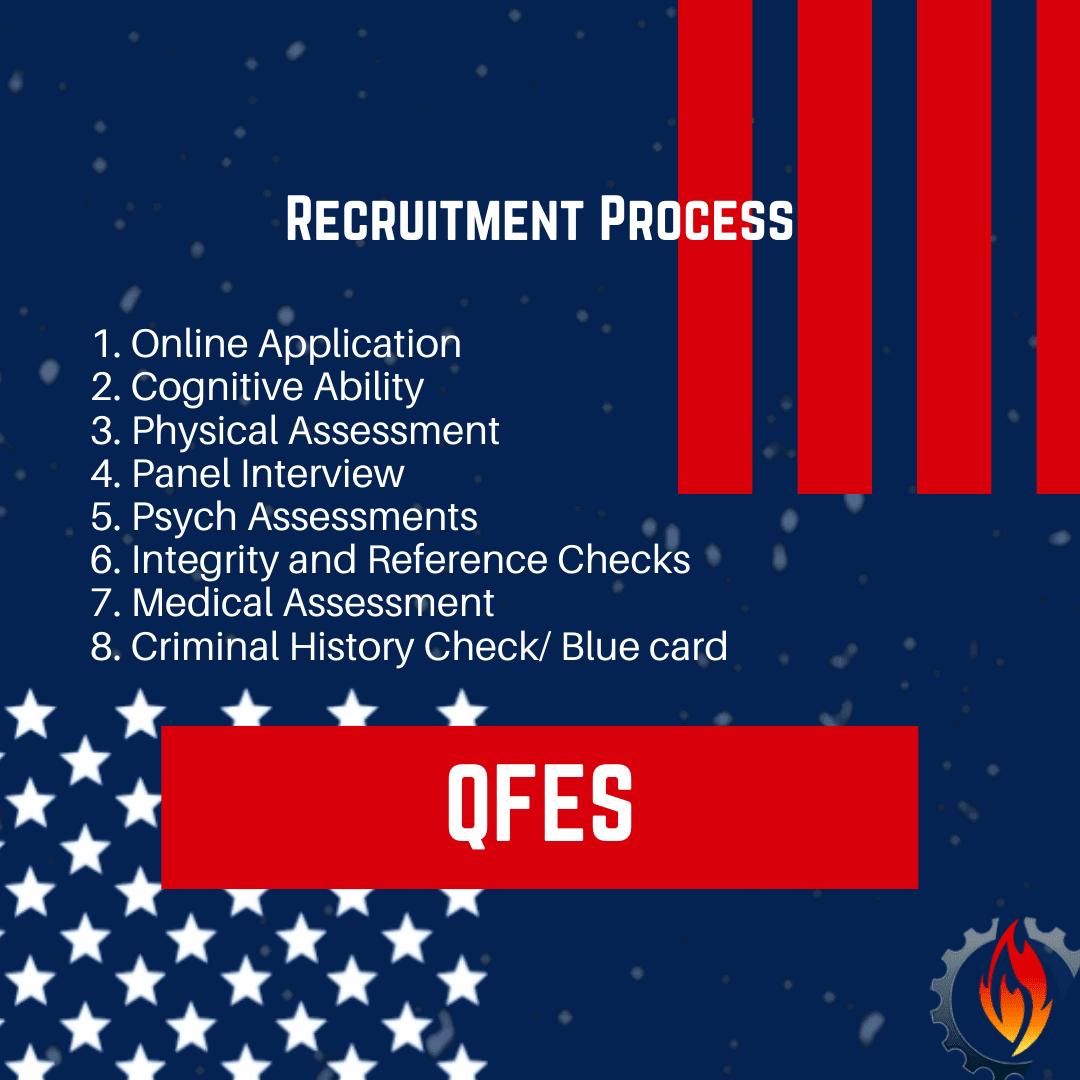 qfes recruitment process