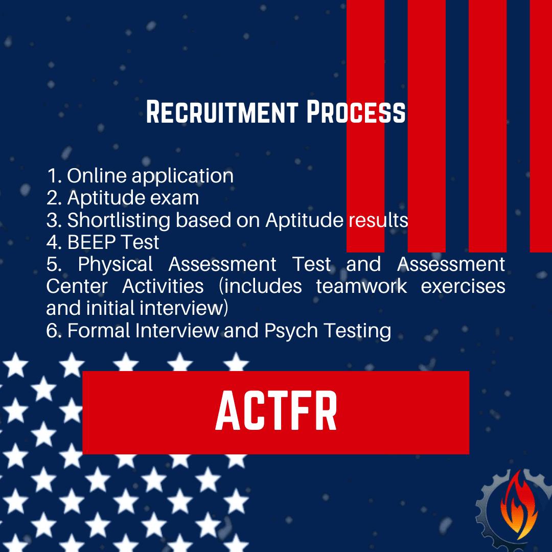 act recruitment process