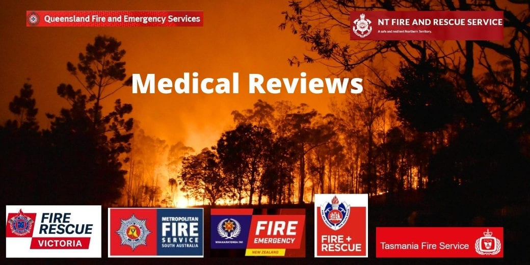 Firefighting Career Medical Reviews