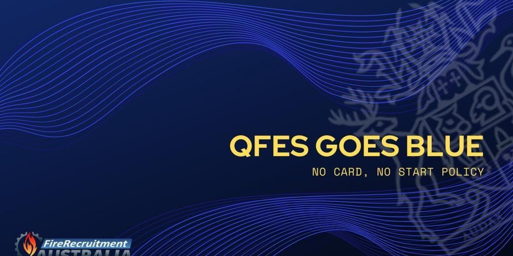 QFES Blue Card 2020