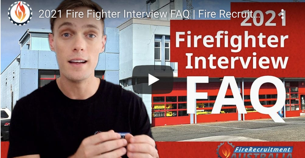 Common interview questions for firefighters