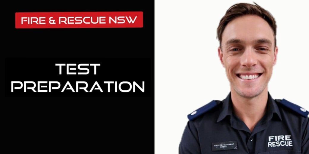 fire & rescue NSW Test Preparation