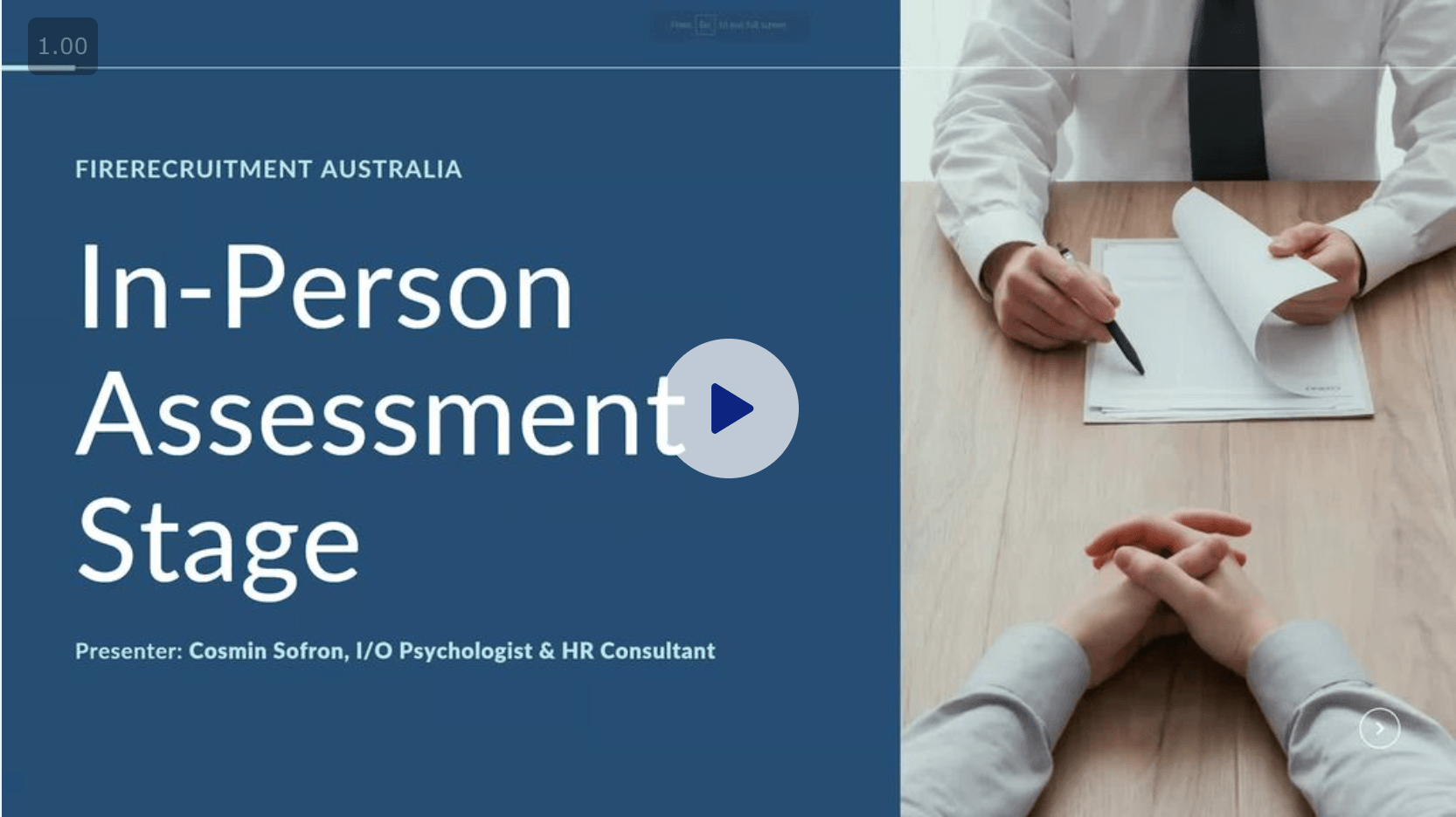 QFES firefighter psych test